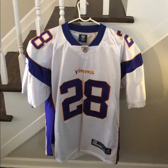 adrian peterson home jersey